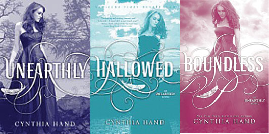 Image result for unearthly by cynthia hand