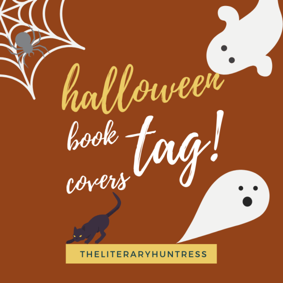 halloween book cover tag