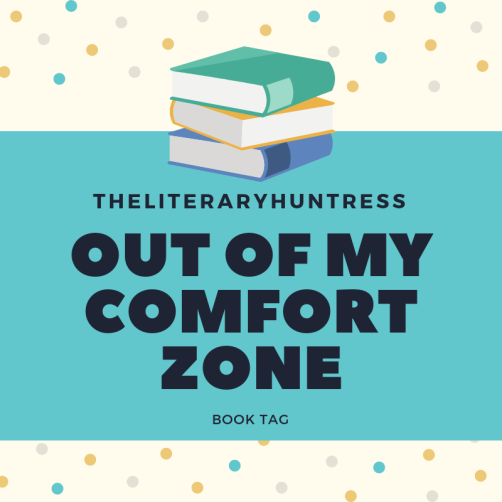 out of my comfort zone book tag