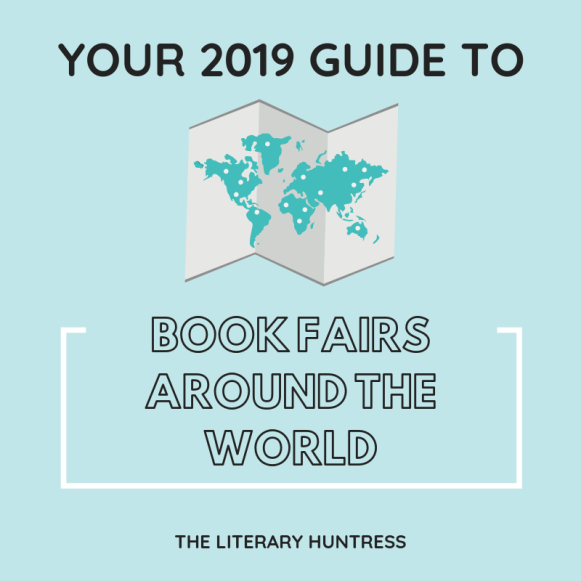 2019 book fairs around the world